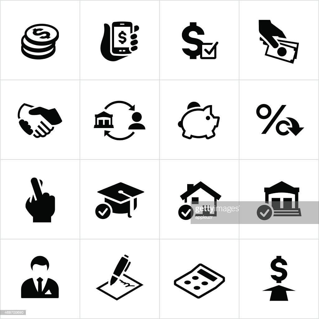 Lending and Loan Icons