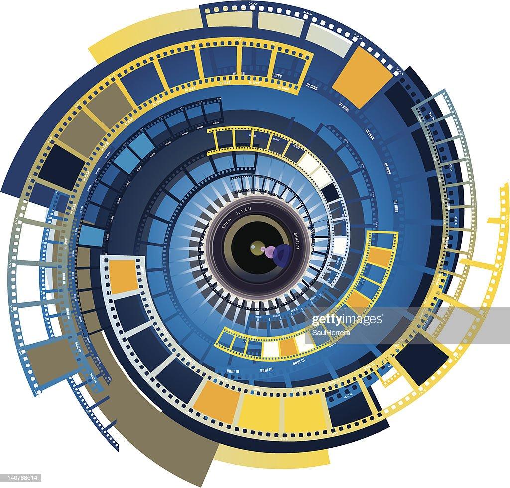 Lens camera movie 2