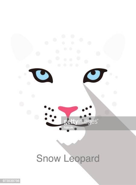 ilustraciones, imágenes clip art, dibujos animados e iconos de stock de leopard icon plana simple diseño, ilustración vectorial - leopardo