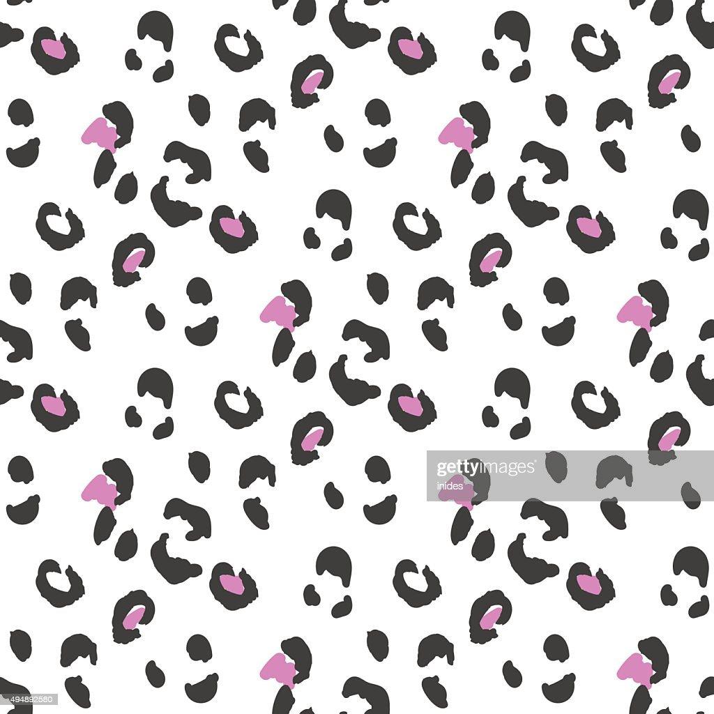 Leopard or cheetah seamless skin pattern