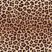 Leopard seamless pattern, imitation of leopard skin