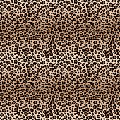 Leopard seamless pattern with color transitions