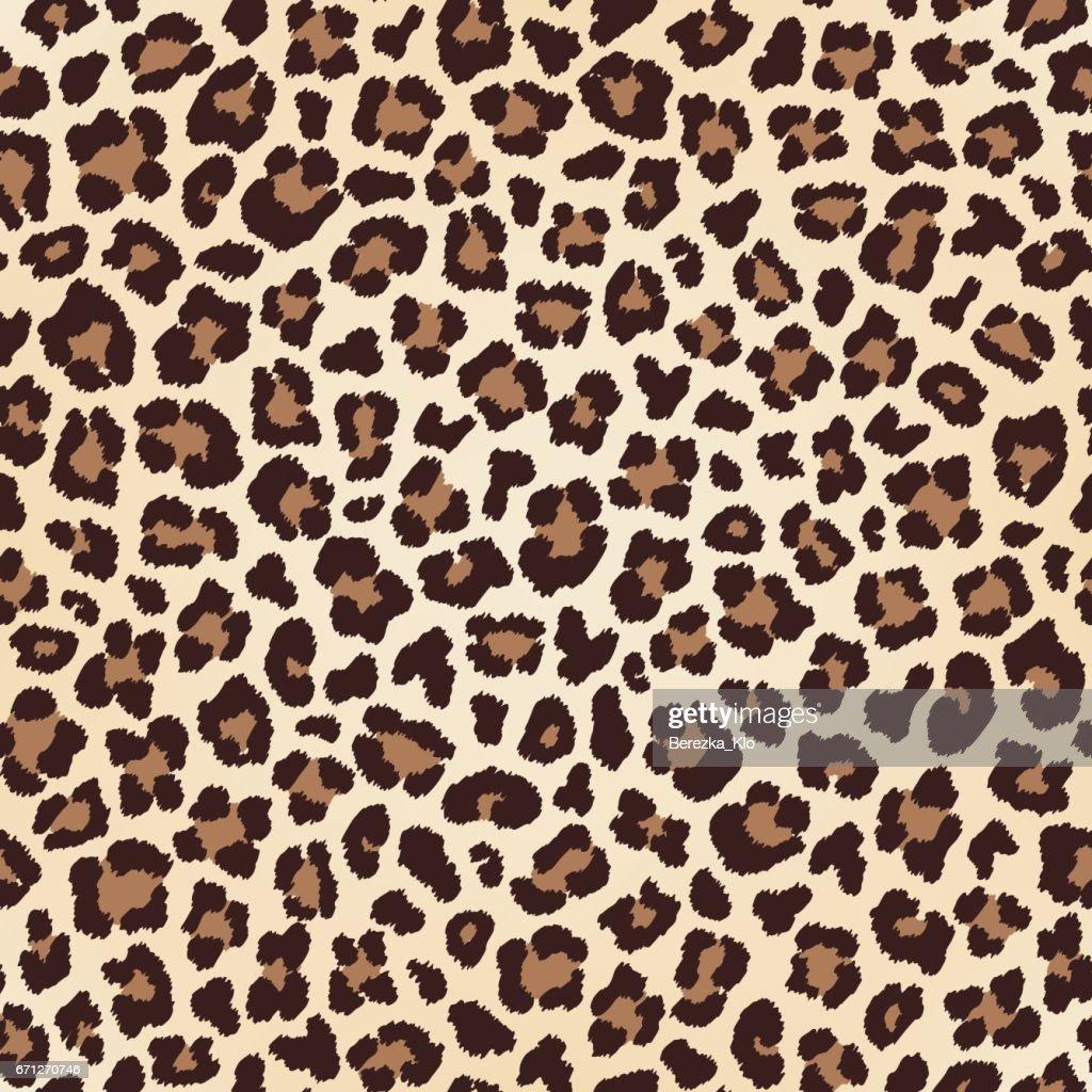 Leopard seamless texture, fur imitation