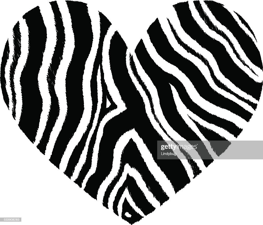 Leopardprint heart