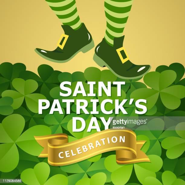 Leprechaun Celebrates St. Patrick's Day