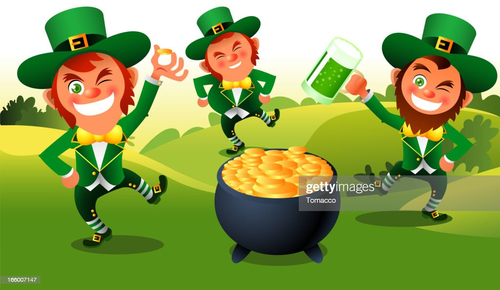 Leprechaun St Patricks Dance