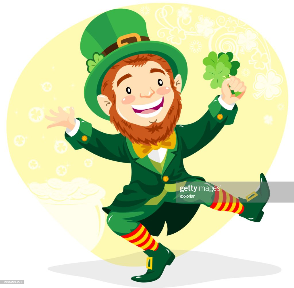 Leprechaun with Clover