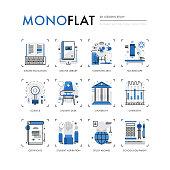 Lessons Study Monoflat Icons