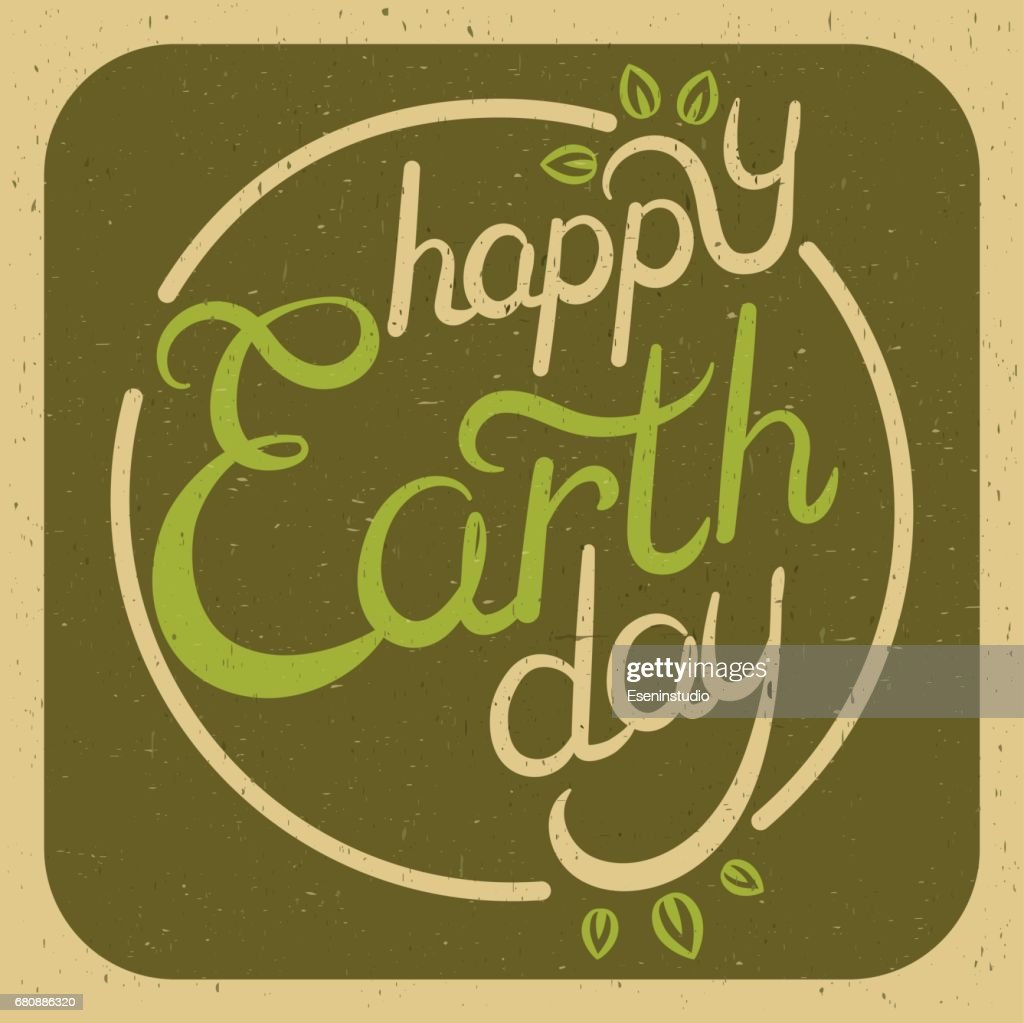 Let the Earth rest. Love of man and planet.