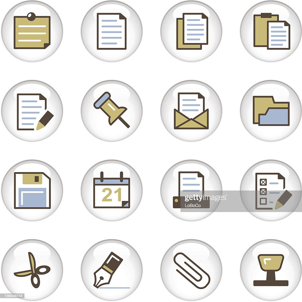 'Letro' Icon Series - Office