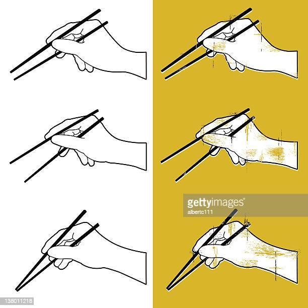 let's chop suey! - chopsticks stock illustrations, clip art, cartoons, & icons