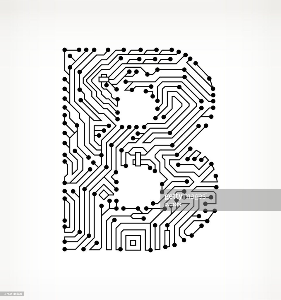 Circuit Board Background White Letters - Wiring Diagram Services •