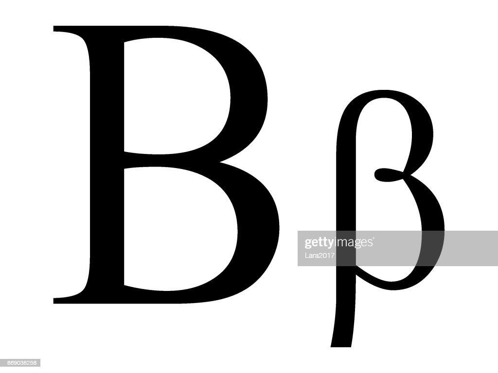 Letter Beta