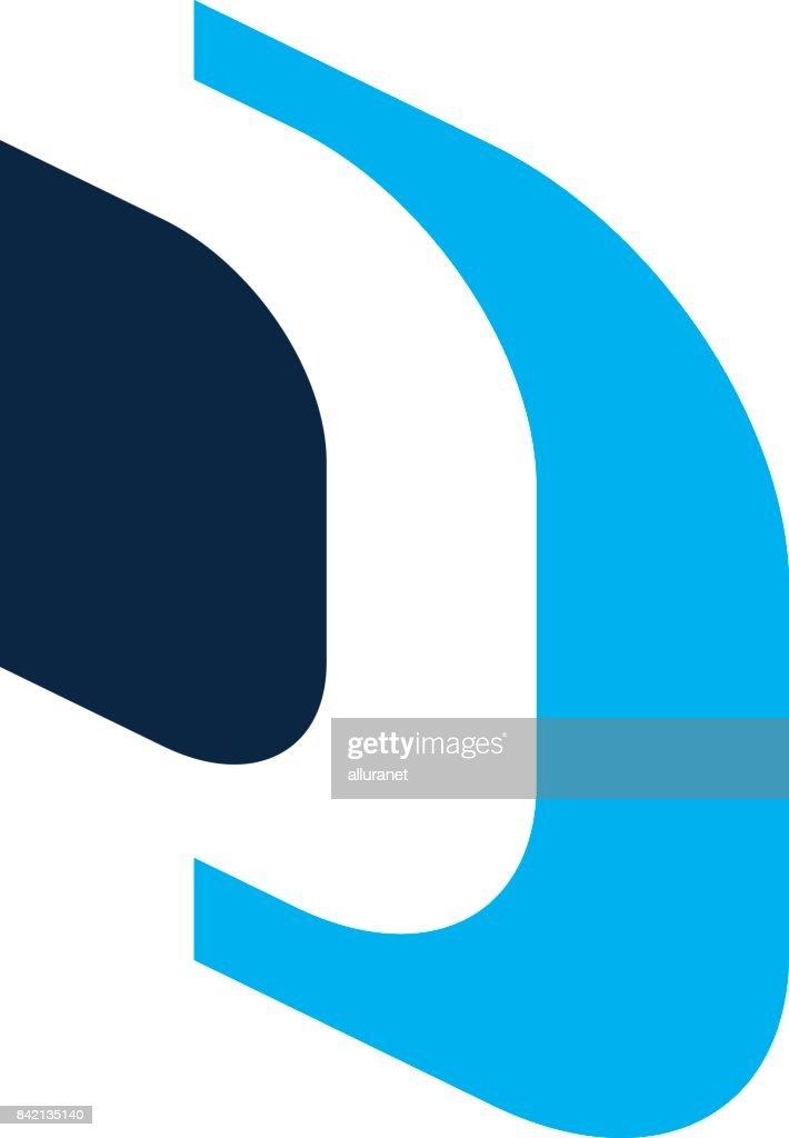 Letter D, DD Modern