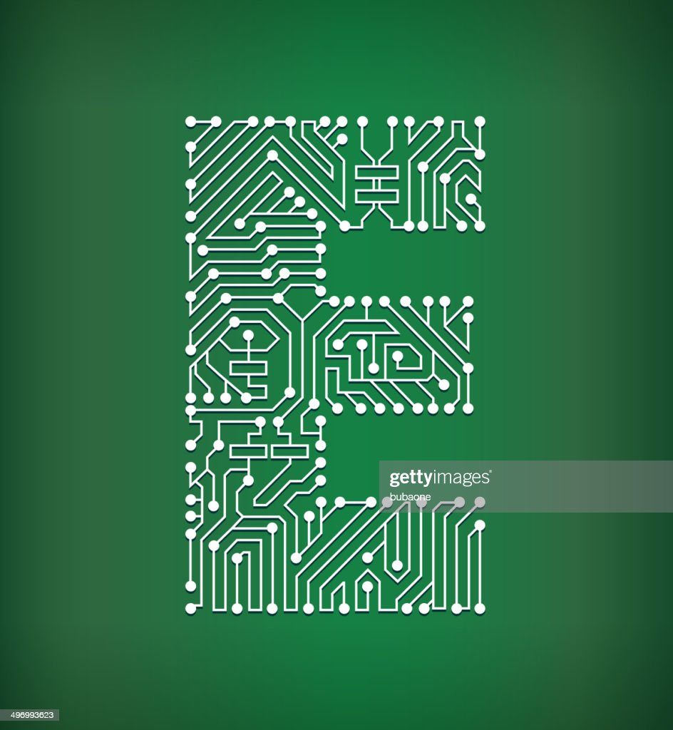 Letter E Stock Illustrations And Cartoons Getty Images Old Electronics Circuit Board Royalty Free Photo Image Vector Art Background