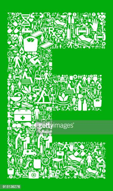 letter e garden and gardening vector icon pattern - work romance stock illustrations, clip art, cartoons, & icons