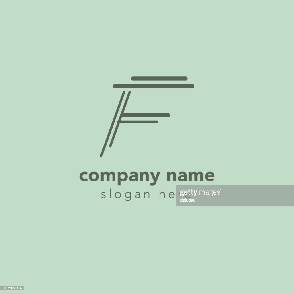Letter f element symbol design template vector art getty images letter f element symbol design template vector art maxwellsz