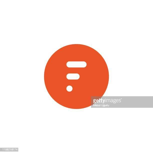 stockillustraties, clipart, cartoons en iconen met letter f logo pictogram ontwerpsjabloon. - group f