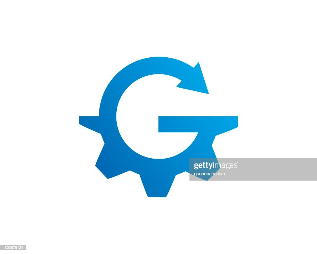 Letter G Gear Symbol Template Design Vector, Emblem, Design Concept, Creative Symbol, Icon