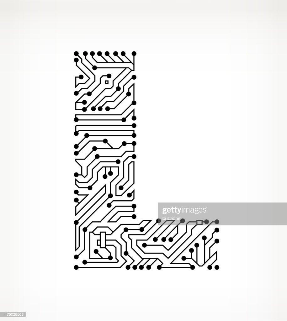 Circuit Letter Art - Wiring Diagram •