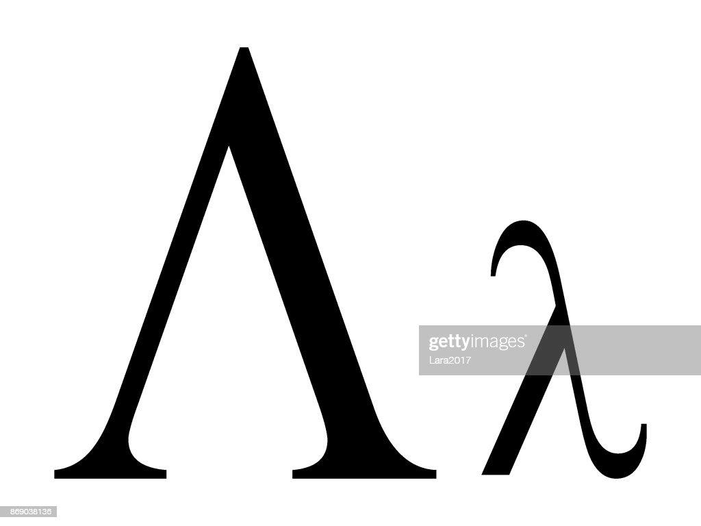 Letter Lambda