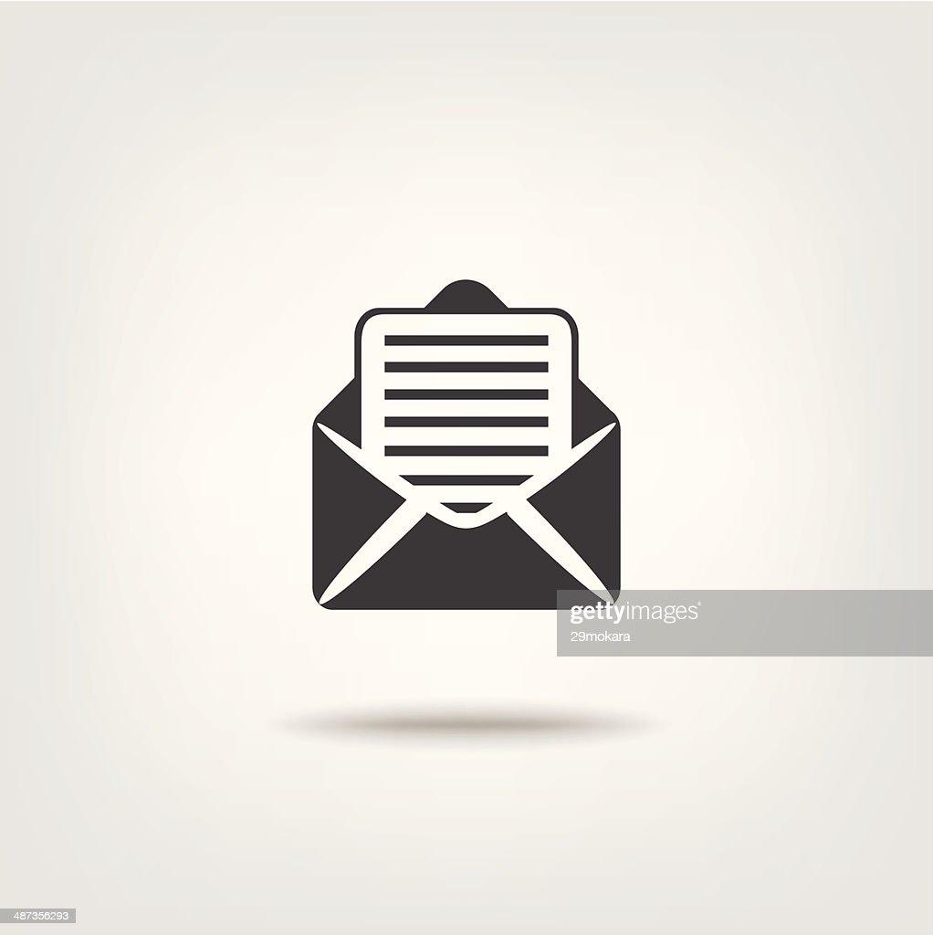 Letter Mail data information sign