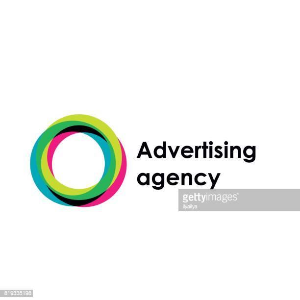 アルファベットの o のベクトル紋章。広告代理店 - ゼロ点のイラスト素材/クリップアート素材/マンガ素材/アイコン素材