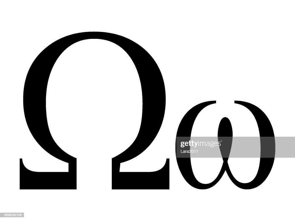 Letter Omega