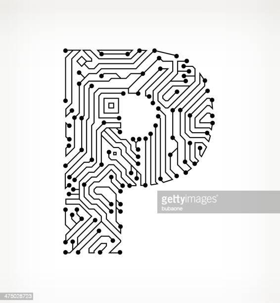 60 top letter p stock vector art  u0026 graphics