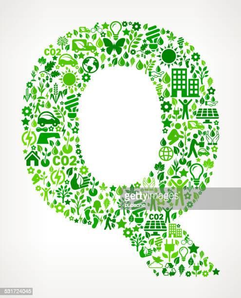 ilustraciones, imágenes clip art, dibujos animados e iconos de stock de letra p conservación del medio ambiente y la naturaleza patrón de iconos de la interfaz - q and a