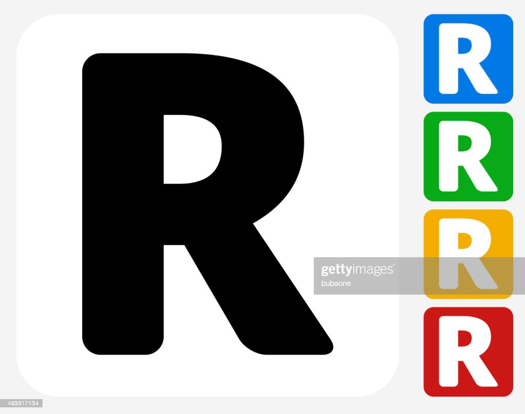 Letter R Icon Flat Graphic Design Vector Art Getty Images Rh Gettyimages Com Lettering Styles