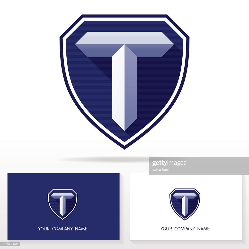 Letter T logo icon design template elements - Illustration.