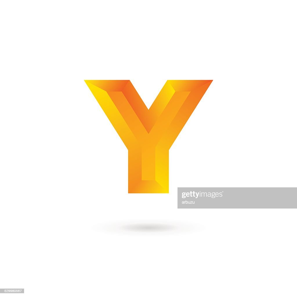 Letter Y emblem icon design template elements