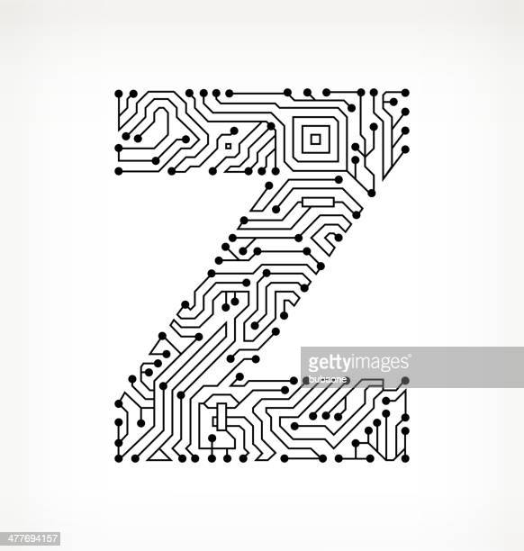 letter z stock illustrations and cartoons