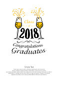 Lettering Class of 2018