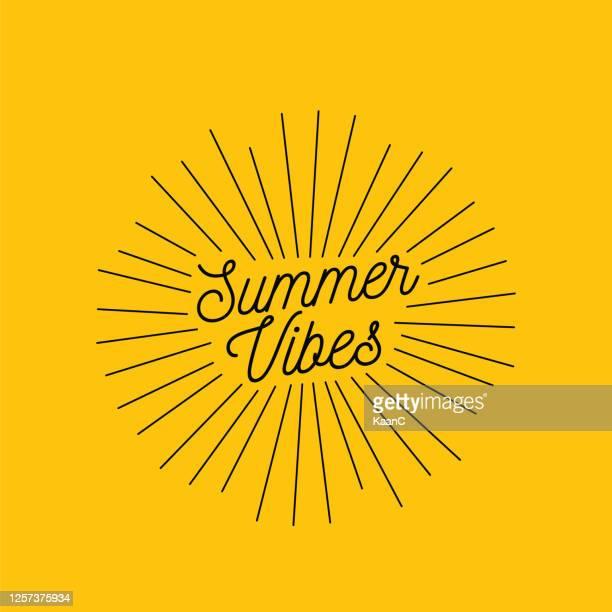 stockillustraties, clipart, cartoons en iconen met beletteringssamenstelling van de voorraadillustratie van de vakantie van de zomer - verblijfsoord