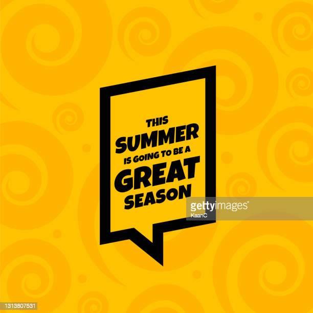 lettering composition of summer vacation stock illustration - draft sports stock illustrations