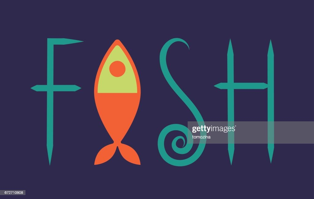 Lettering fish