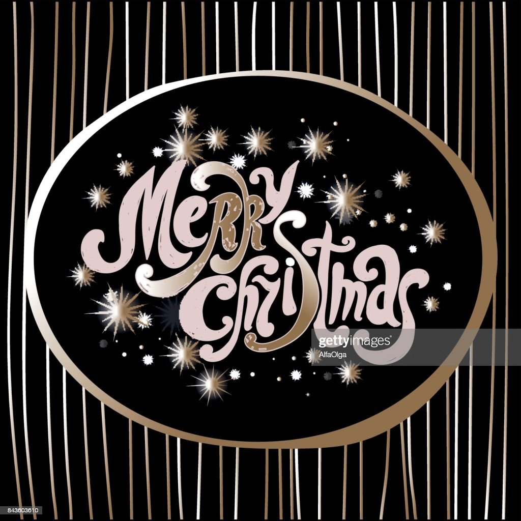 Schriftart Weihnachten.Schriftzug Frohe Weihnachten Handschrift Design Schriftart