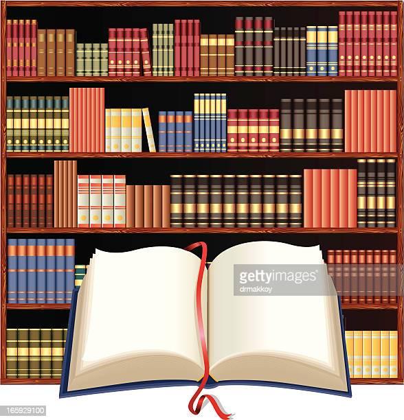 Bibliothek und Buch