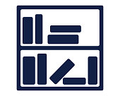 library icon glyph