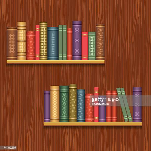 ライブラリー - 本棚点のイラスト素材/クリップアート素材/マンガ素材/アイコン素材