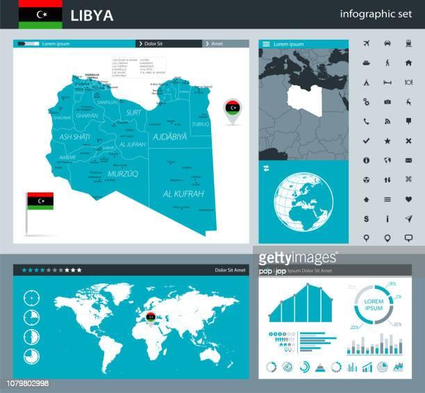 35-リビア - 灰色 murena インフォ グラフィック q10 - ミスラタ点のイラスト素材/クリップアート素材/マンガ素材/アイコン素材