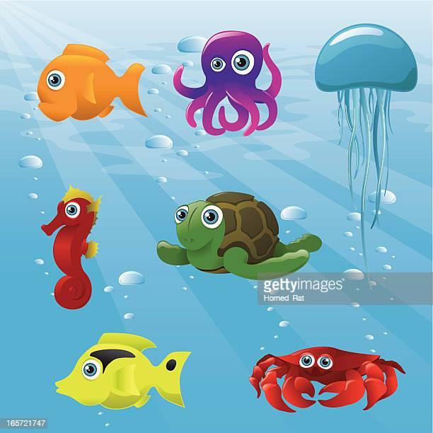 Life Aquatic - Animals