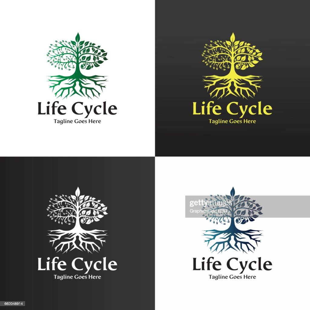 Life cycle logo
