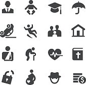 Life Insurance Icons - Acme Series