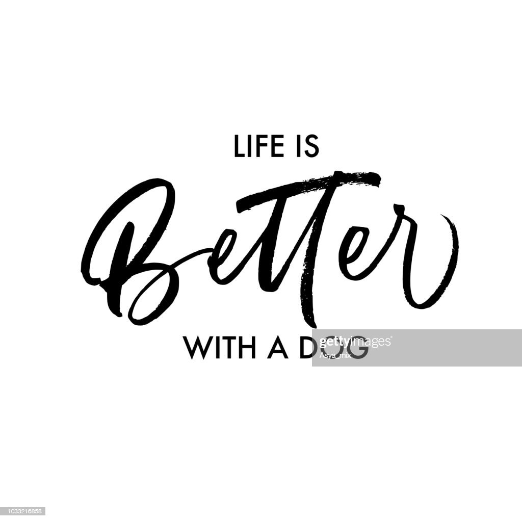 Life is better with a dog card.