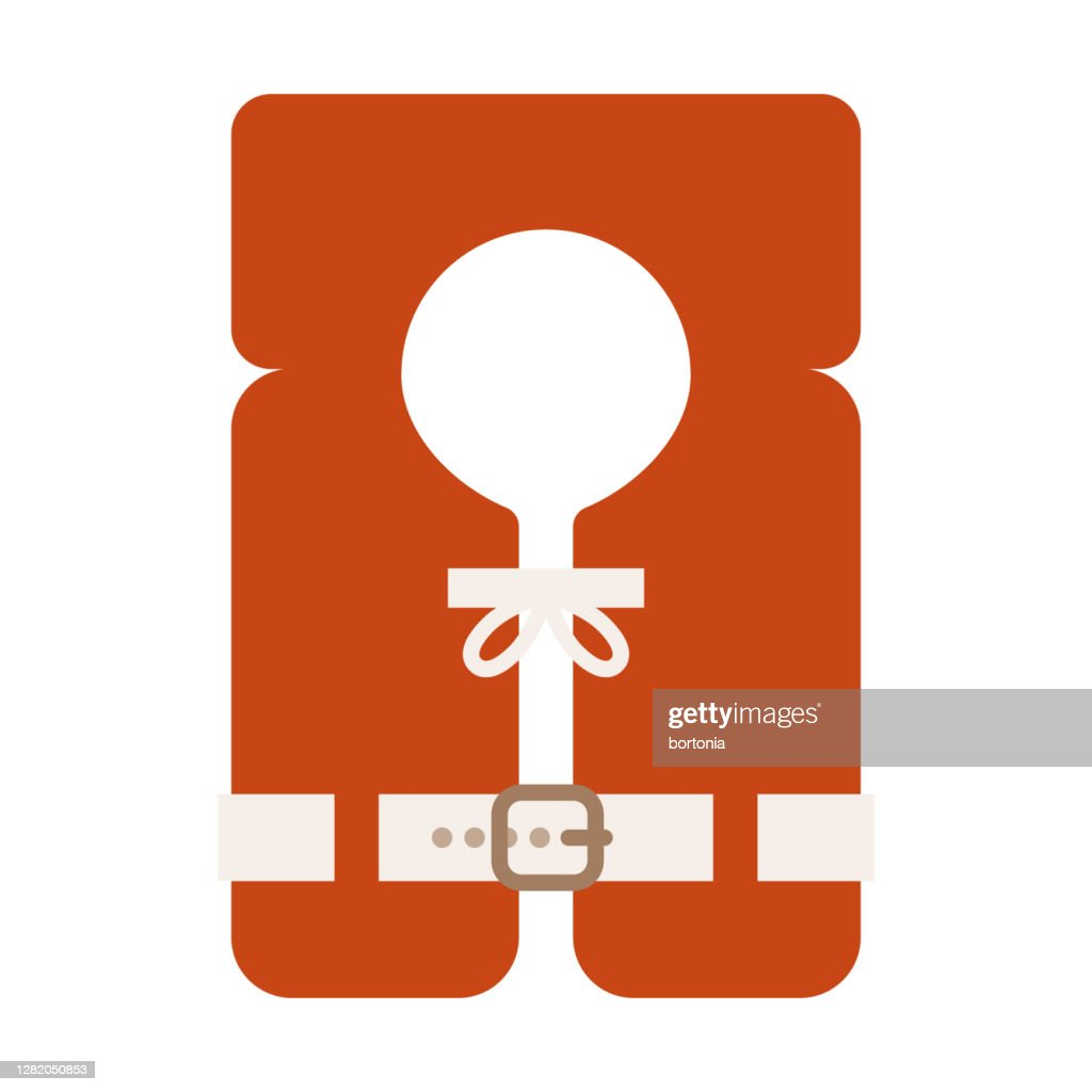 Life Jacket Icon On Transparent Background High Res Vector Graphic Getty Images