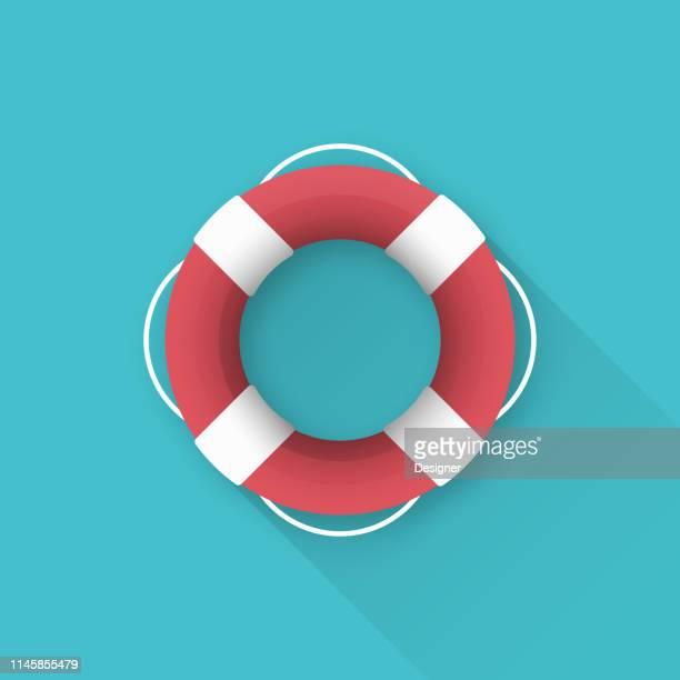 life vest icon design - new life stock illustrations