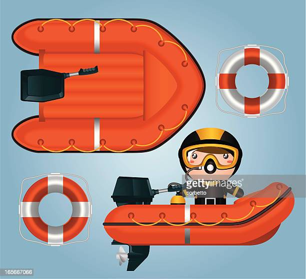 lifeboat - lifeboat stock illustrations